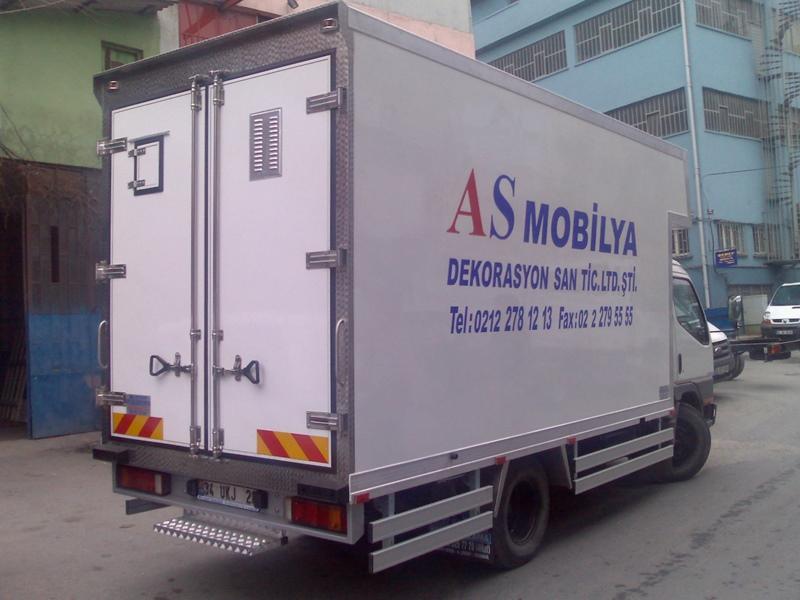 alüminyum kamyon kasası