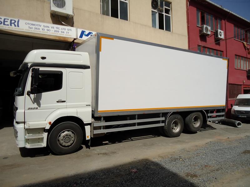 Monopan kamyonet Kasası